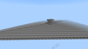 Secutor class Star Destroyer 1/10 scale Minecraft Map & Project