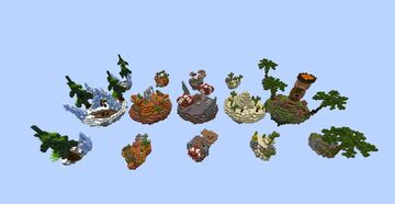 Skywars Duels [Map pack] Minecraft Map & Project