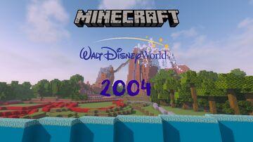 Walt Disney World 2004 Minecraft Map & Project
