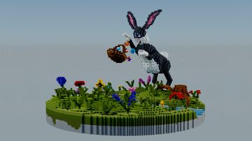 Tripping easter bunny   Search the eastereggs! Minecraft Map & Project