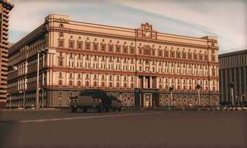 Lubyanka - Central building of the KGB of the USSR Moscow Minecraft Map & Project