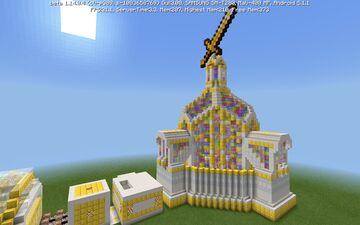 Golden Arena Minecraft Map & Project