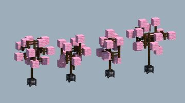 Cherry Tree Pack Minecraft Map & Project