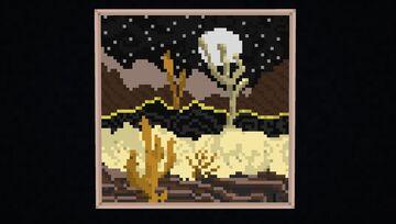 Desert Moon - ArtMap Map Art Minecraft Map & Project
