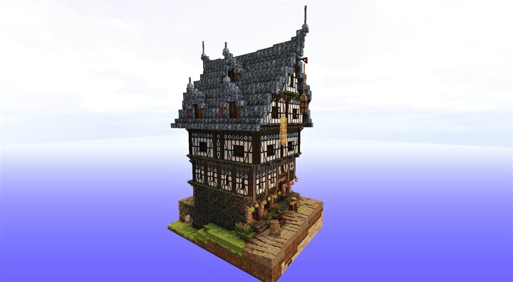 Medieval Residence with Two Shops Beneath