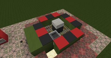 Roulette Table with Working Bets Minecraft Map & Project