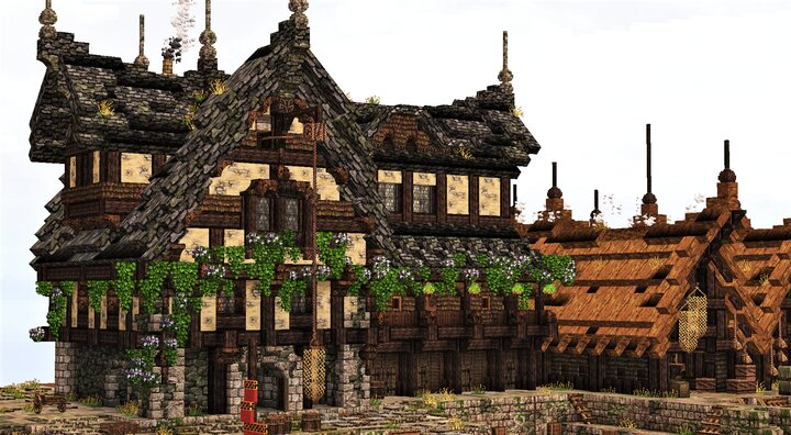 Medieval Boat House