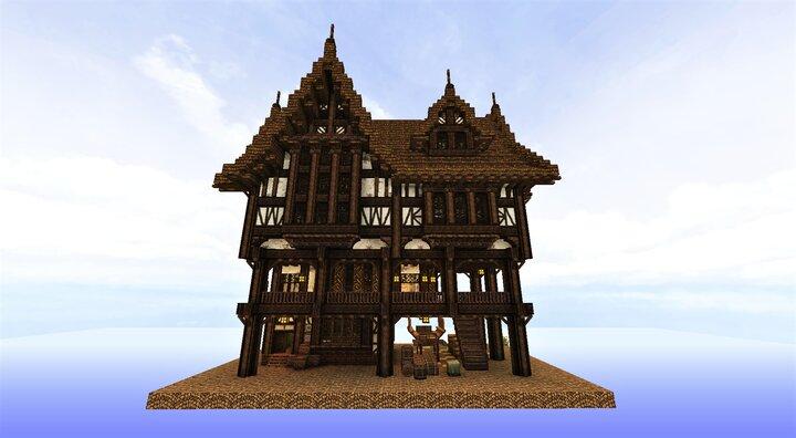 Medieval Silk Merchant Build