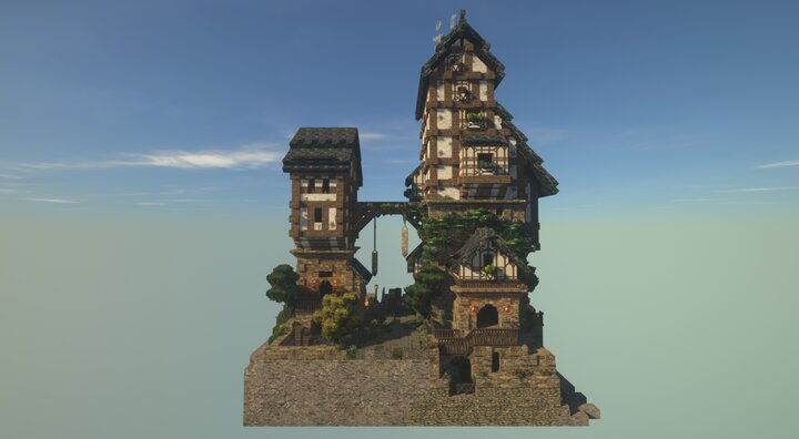 Medieval 4 Story Build