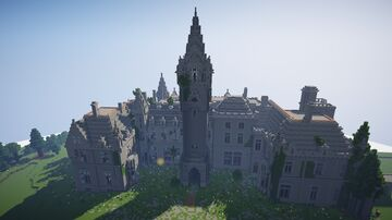 Chateau Noisy / Chateau Miranda (decay) Minecraft Map & Project