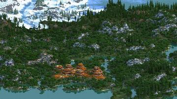 Green Hills - 4000x4000 (custom terrain) Minecraft Map & Project