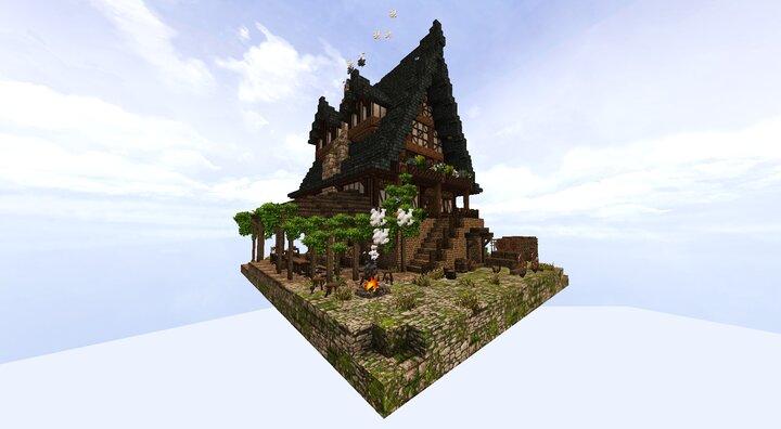 Medieval Blacksmith Residence