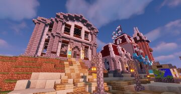 Athesne's Wreck Town Hall Minecraft Map & Project