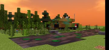 Indonesian Leopard 2 A4 tank patroling Indonesian forests Minecraft Map & Project