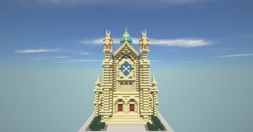Church of St. Matthew Minecraft Map & Project