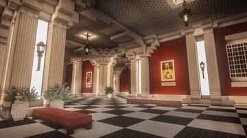 Art Gallery / Spawn Area Minecraft Map & Project