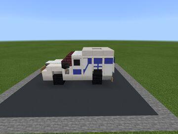 Ambulance Minecraft Map & Project