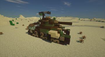 Oddball's Sherman (Kelly's heroes) Minecraft Map & Project