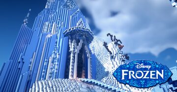 Elsa's Castle (Frozen) Minecraft Map & Project