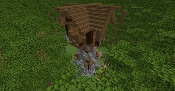 Watch Tower in the forest (schematic) Minecraft Map & Project