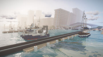 Copper City Docks Minecraft Map & Project
