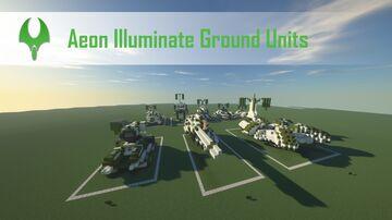 Supreme Commander 2 Aeon Illuminate Ground Units Minecraft Map & Project