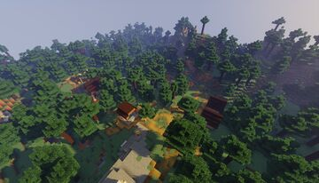 Taiga village Minecraft Map & Project