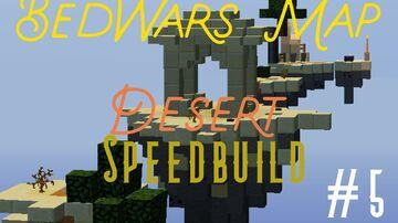 Desert BedWars Map 1.8 - 1.12.2 Minecraft Map & Project
