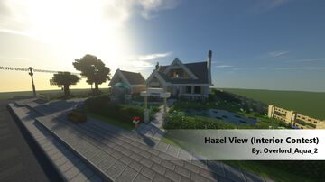 The Hazel View - Interior Decorator Minecraft Detail Contest Minecraft Map & Project