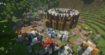 A medieval event area in Minecraft | Arcadia Minecraft Map & Project