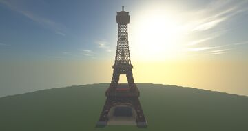 The Eiffel Tower Minecraft Map & Project