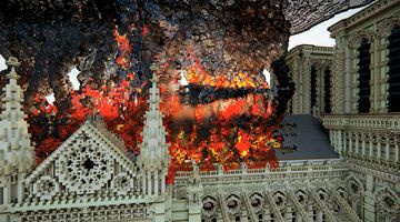 Notre Dame fire【1.14.4】 Minecraft Map & Project