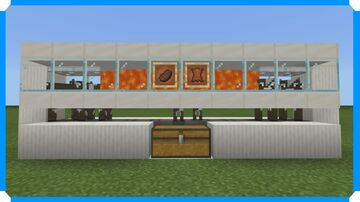 How To Build An Easy Automatic Cow Farm Minecraft Map & Project