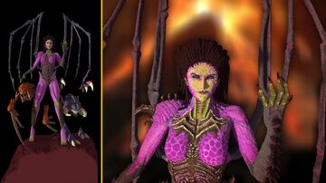 Sarah Kerrigan - Queen of blades | Starcraft Minecraft Map & Project