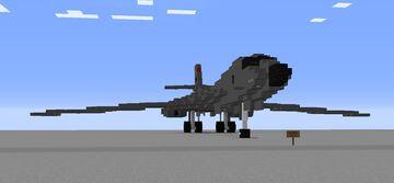 1.5:1 Rockwell B1B Lancer Minecraft Map & Project