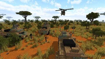 South African RATEL 90 IFV 1,5:1 Minecraft Map & Project