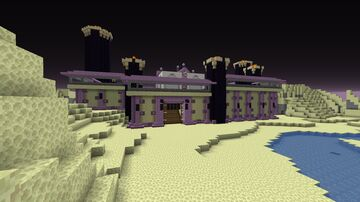 Story of End Castle Minecraft Map & Project