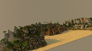 Personal Work Processing 35%... [Oriental] Minecraft Map & Project