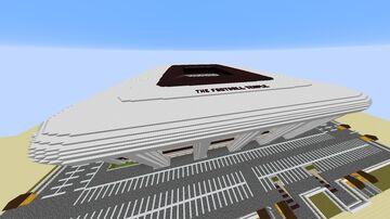 The Football Temple Stadium Minecraft Map & Project
