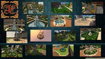 [Æonis/Glaciem] - Fountain Bundle [Once upon a Time - Series] Minecraft Map & Project