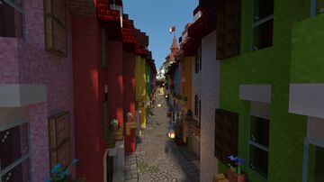 City Village, A collaboration between Delta Research and United Valleria Minecraft Map & Project