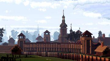 Monastyr' Kosmy i Damiana (Monastery of Cosmas and Damian on Yarunova Gora),  Suzdal, Russia Minecraft Map & Project