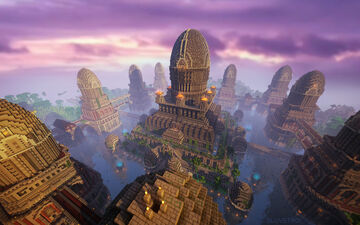 Temple of Jungle Minecraft Map & Project