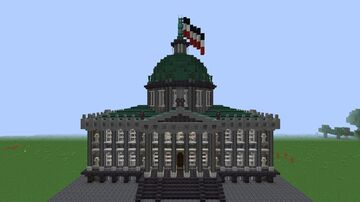 German Courthouse Minecraft Map & Project