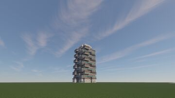Modern tower Minecraft Map & Project