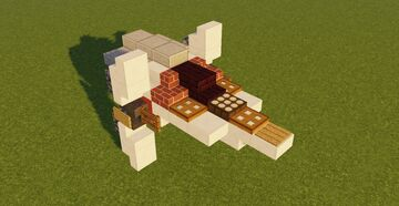 Star Wars III Alpha-3 Fighter Minecraft Map & Project