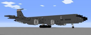 1.5:1 KC-135 Minecraft Map & Project