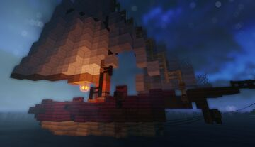 "Jaydens ""Wretched"" JayBird Pirate Sloop Minecraft Map & Project"