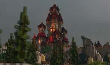 Castle hill Minecraft Map & Project