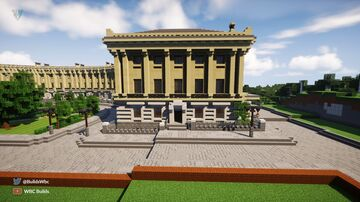 Lymore Park Crescent Minecraft Map & Project